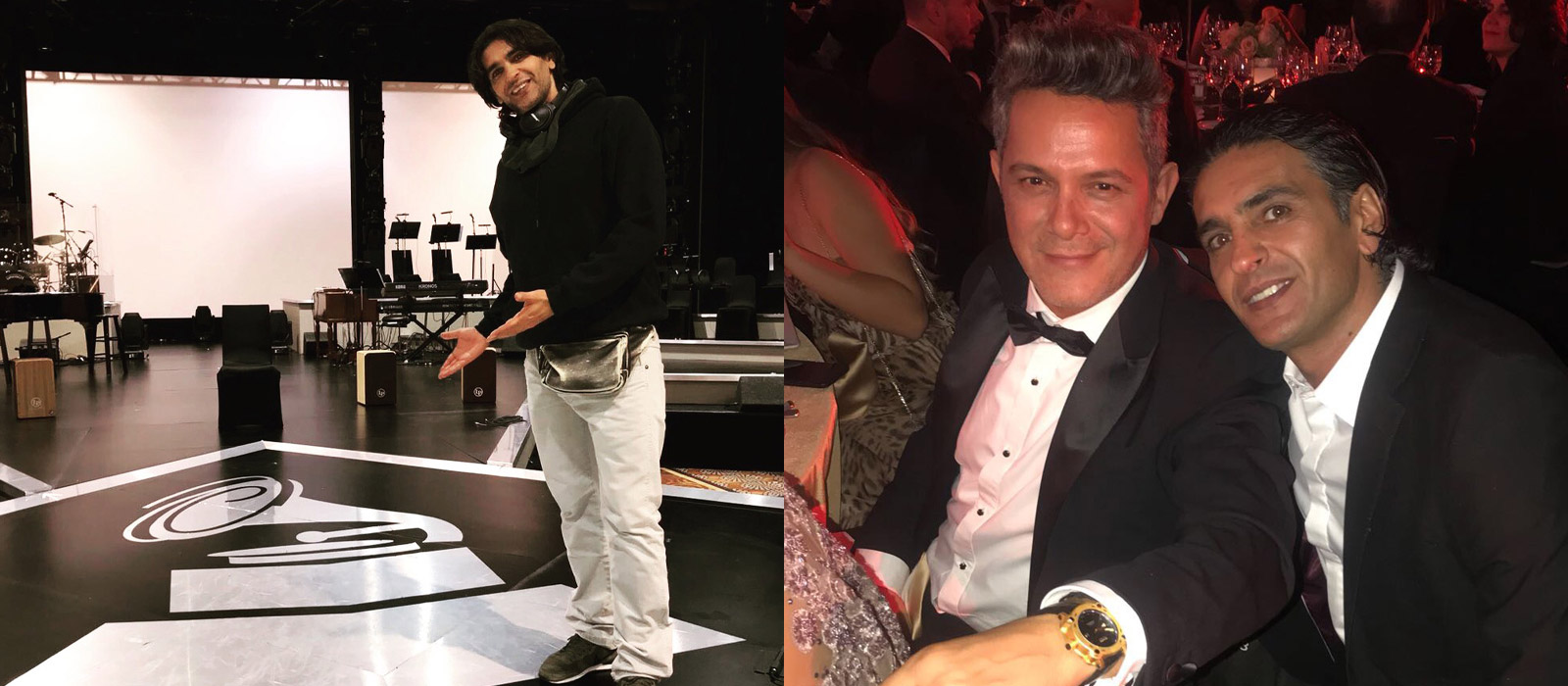 Ismael Fernández joins the tribute gala to Alejandro Sanz named Person of the Year Latin GRAMMY